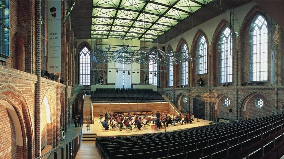 The Konzerthalle in Neubrandenburg is Germany's most exciting concert hall, © TMV/Werk3
