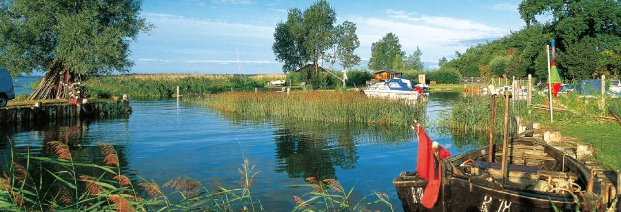 Idyllic harbour with fishing romanticism on the Island of Usedom, © TMV/Grundner