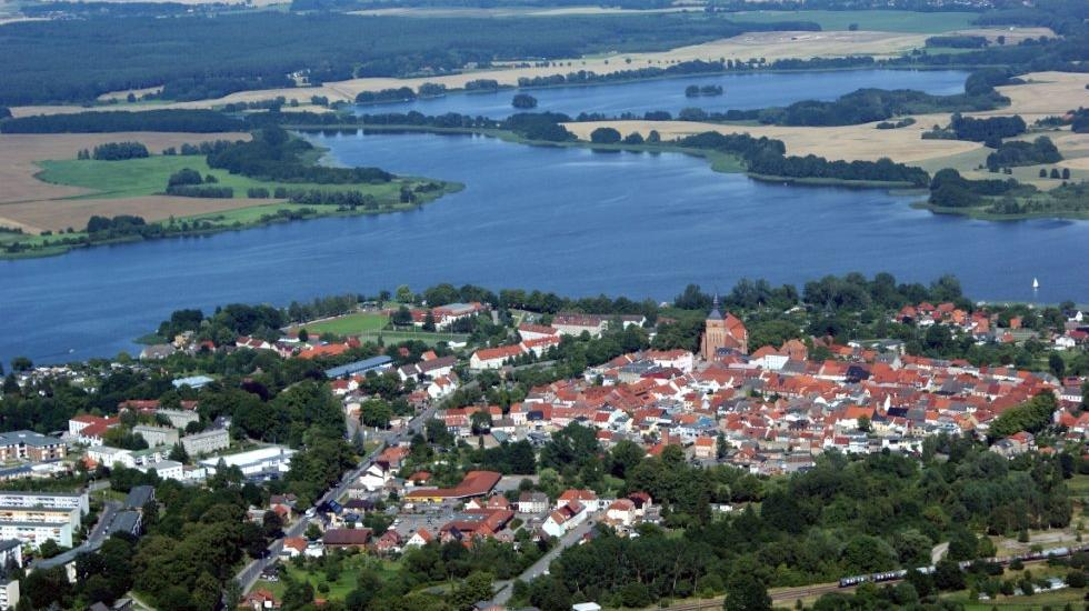 Sternberg  and Sternberger lake, © Stadtinformation Sternberg